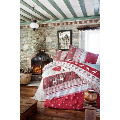 Flanell Winter Bettwäsche 135x200 Cm Santa 3tlg Set 100baumwolle Mit Reißverschluss