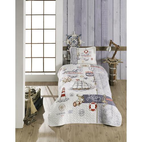 kinder tagesdecke set 180 x 240 cm mit kissenbezug f r einzelbett 29 95. Black Bedroom Furniture Sets. Home Design Ideas