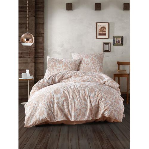 Bettwäsche Set 240 X 220 Cm Havana Beige Farbe 100 Baumwolle