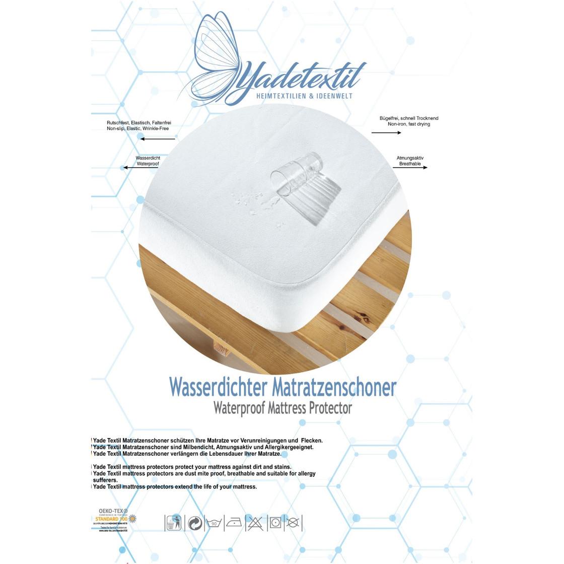 Atmungsaktive Anti-Milben,Anti-Allergie Matratzenschoner Wasserdichter